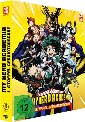 My Hero Academia - Staffel 1 (Gesamtausgabe, Deluxe Edition, 3 DVDs)