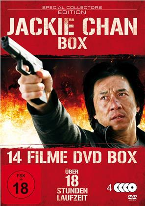 Jackie Chan Box - 14 Filme DVD Box (4 DVDs)
