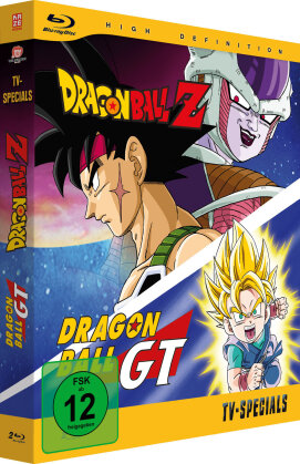 Dragonball Z & Dragonball GT - TV-Specials (2 Blu-rays)