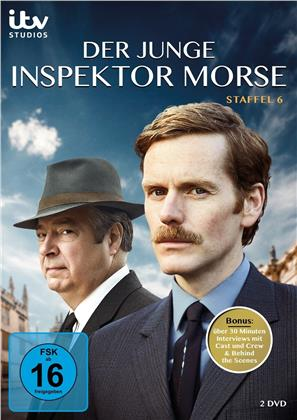 Der junge Inspektor Morse - Staffel 6 (2 DVDs)