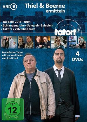 Tatort - Thiel & Boerne ermitteln - Die Fälle 2018-2019 (4 DVDs)