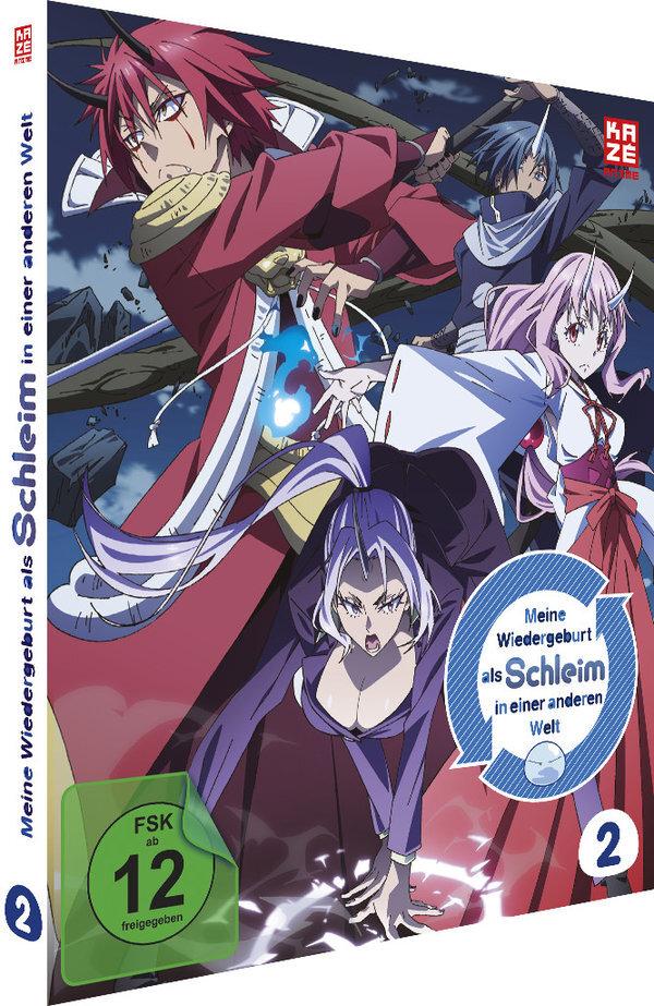 Meine Wiedergeburt als Schleim in einer anderen Welt - Vol. 2 (2 DVDs)