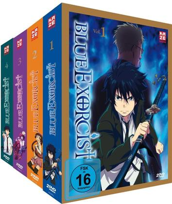 Blue Exorcist - Staffel 1 (Gesamtausgabe, 8 DVDs)