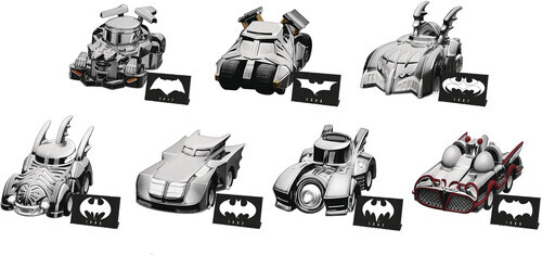 Beast Kingdom - Batman Special Edition Pull Back Car Set