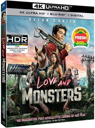 Love and Monsters (2020) (4K Ultra HD + Blu-ray)