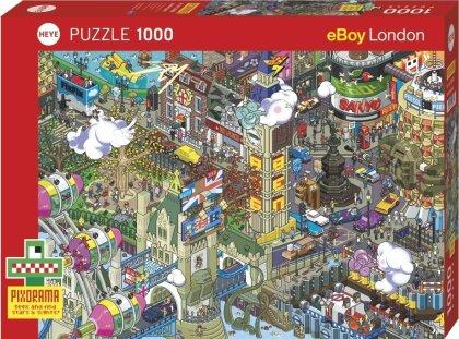 London Quest - 1000 Piece Puzzle