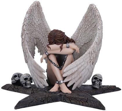 Spiral: Gothic Enslaved Angel in Chains - Figurine