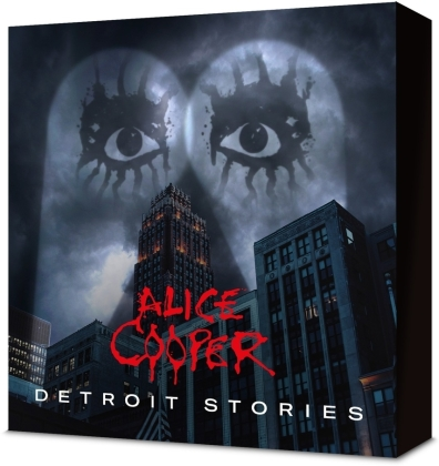 Alice Cooper - Detroit Stories (Boxset, + T-Shirt L, Limited Edition, CD + Blu-ray)