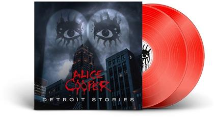 Alice Cooper - Detroit Stories (Limited Edition, Red Vinyl, 2 LPs)