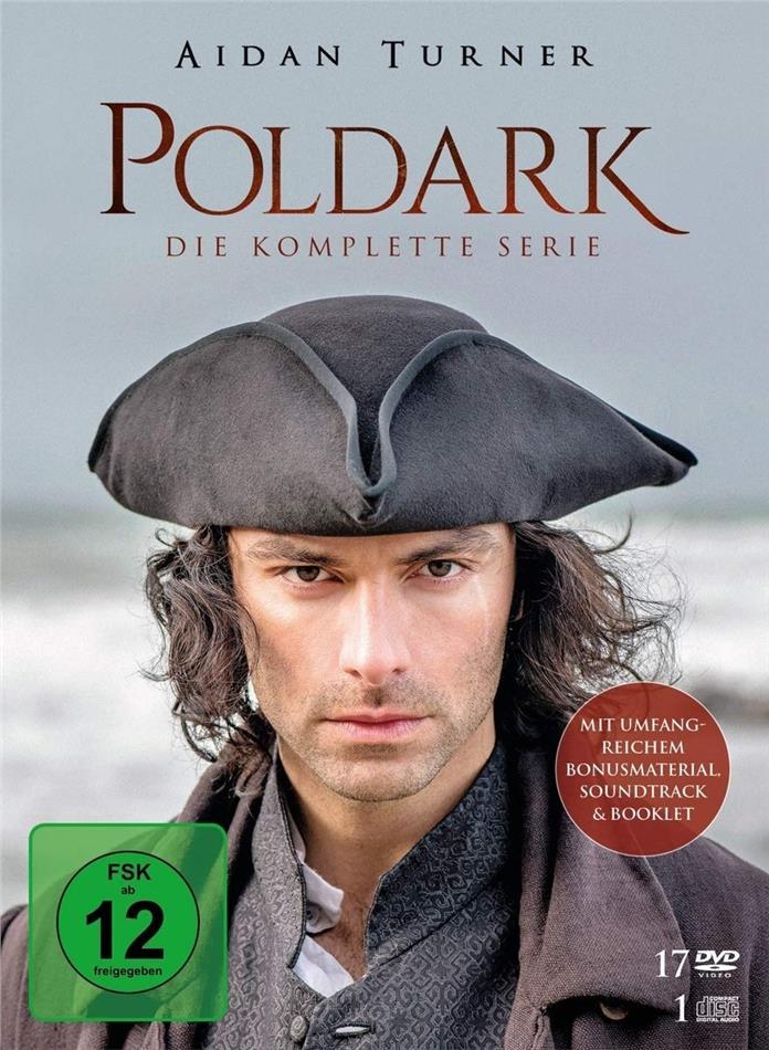 Poldark - Die komplette Serie (17 DVDs + CD)