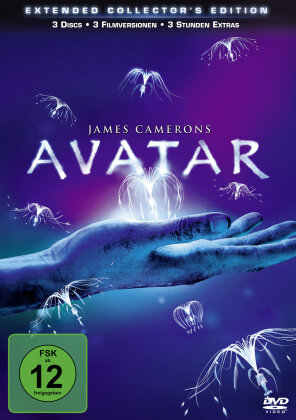 Avatar (2009) (Extended Collector's Edition, Riedizione, 3 DVD)