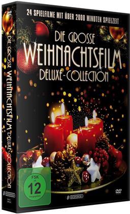 Die grosse Weihnachtsfilm Deluxe-Collection - 24 Spielfilme (8 DVDs)