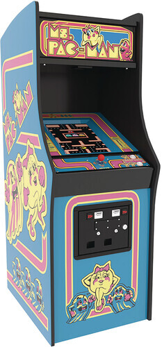Numskull - Quarter Arcade Ms Pac-Man Arcade Machine (Net)