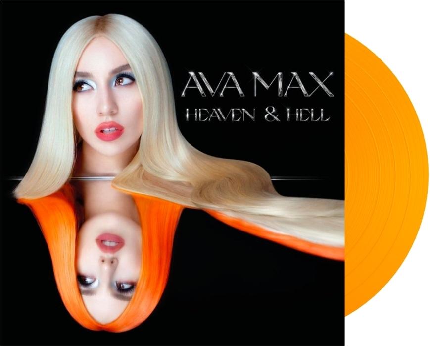 Ava Max - Heaven & Hell (Limited Edition, Orange Transparent Color Vinyl, LP)