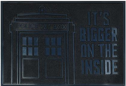 Doctor Who: Tardis - Rubber Doormat