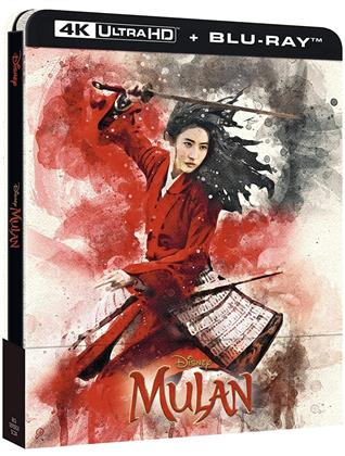 Mulan (2020) (Edizione Limitata, Steelbook, 4K Ultra HD + Blu-ray)