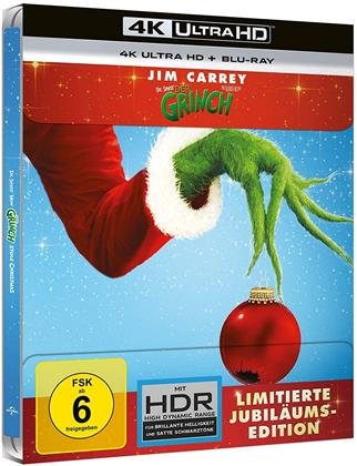 Der Grinch (2000) (Edizione Limitata, Steelbook, 4K Ultra HD + Blu-ray)