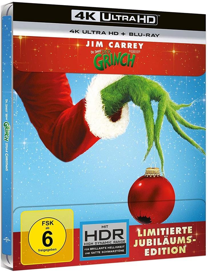 Der Grinch (2000) (Limited Edition, Steelbook, 4K Ultra HD + Blu-ray)