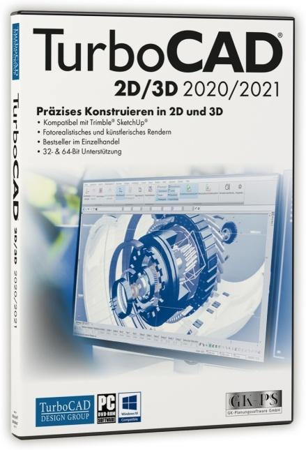 TurboCAD 2D/3D 2020/2021