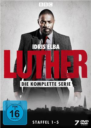 Luther - Die komplette Serie - Staffeln 1-5 (7 DVDs)