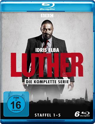 Luther - Die komplette Serie - Staffeln 1-5 (6 Blu-rays)