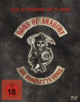 Sons of Anarchy - Die komplette Serie (23 Blu-rays)