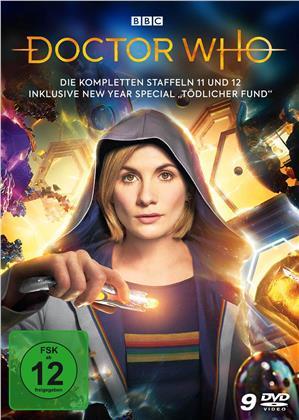 """Doctor Who - Die kompletten Staffeln 11 und 12 inkl. New Year Special """"Tödlicher Fund"""" (9 DVDs)"""