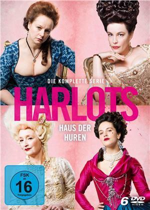 Harlots - Haus der Huren - Die komplette Serie - Staffel 1-3 (6 DVDs)