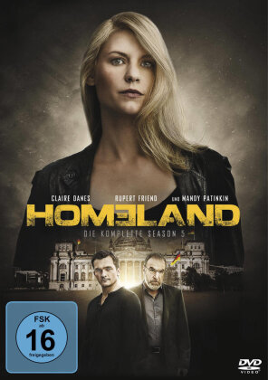 Homeland - Staffel 5 (4 DVDs)