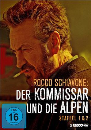 Rocco Schiavone: Der Kommissar und die Alpen - Staffel 1 & 2 (5 DVDs)