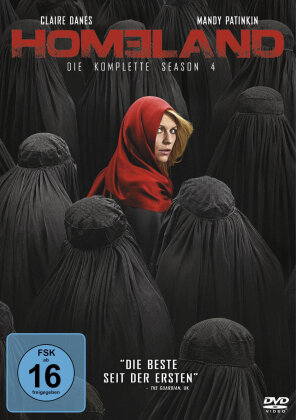 Homeland - Staffel 4 (4 DVDs)
