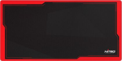Nitro Concepts DM12 Inferno Deskmat [1200 x 600 mm] - black/red