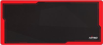 Nitro Concepts DM9 Inferno Deskmat [900 x 400 mm] - black/red