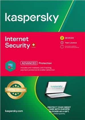 Kaspersky Internet Security Limited Edition inkl. RFID K.(2 PC)