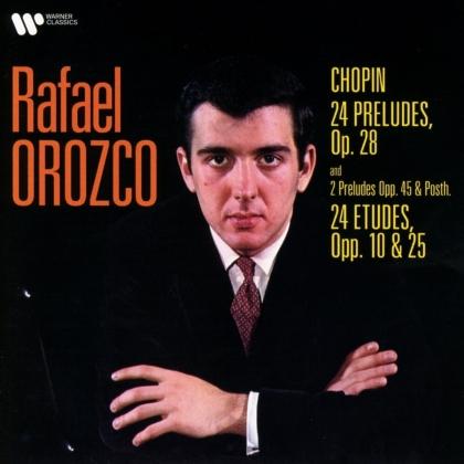 Rafael Orozco & Frédéric Chopin (1810-1849) - Preludes & Etudes (2 CDs)