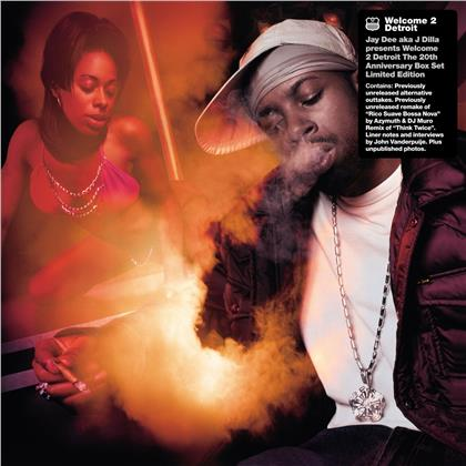 """Jay Dee (J Dilla) - Welcome 2 Detroit (2021 Reissue, 20th Anniversary Edition, 12 12"""" Maxis)"""