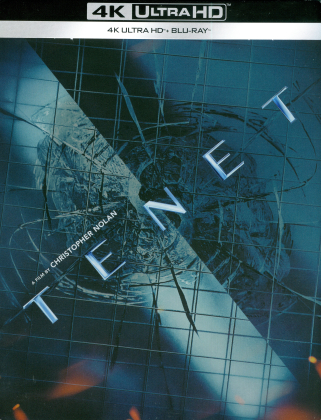 Tenet (2020) (Limited Edition, Steelbook, 4K Ultra HD + Blu-ray)