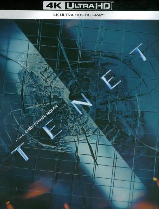 Tenet (2020) (Limited Edition, Steelbook, 4K Ultra HD + Blu-ray)