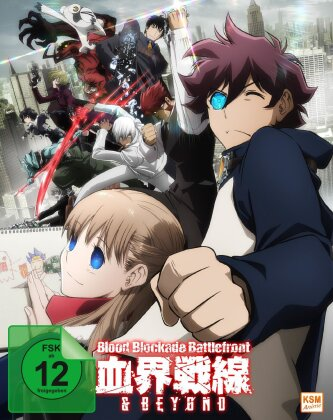 Blood Blockade Battlefront & Beyond - Staffel 2 - Vol. 1-4 (Edizione Limitata)