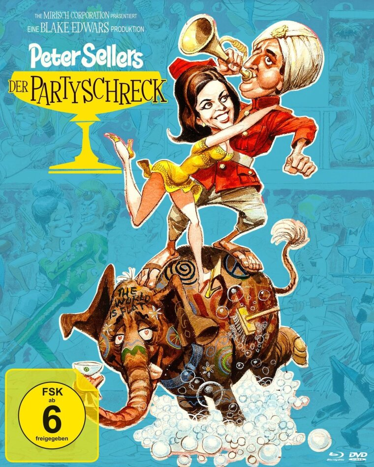 Der Partyschreck (1968) (Digibook, Special Edition, Blu-ray + 2 DVDs)