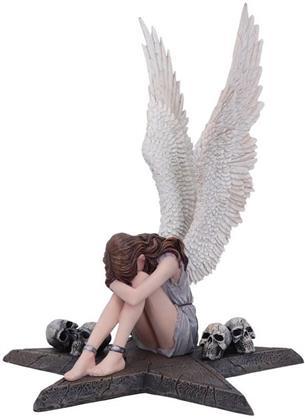 Spiral: Enslaved Angel in Chains - Gothic Figurine