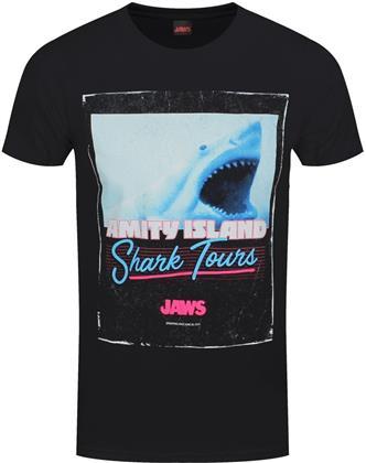 Jaws: Shark Tours - Men's T-Shirt