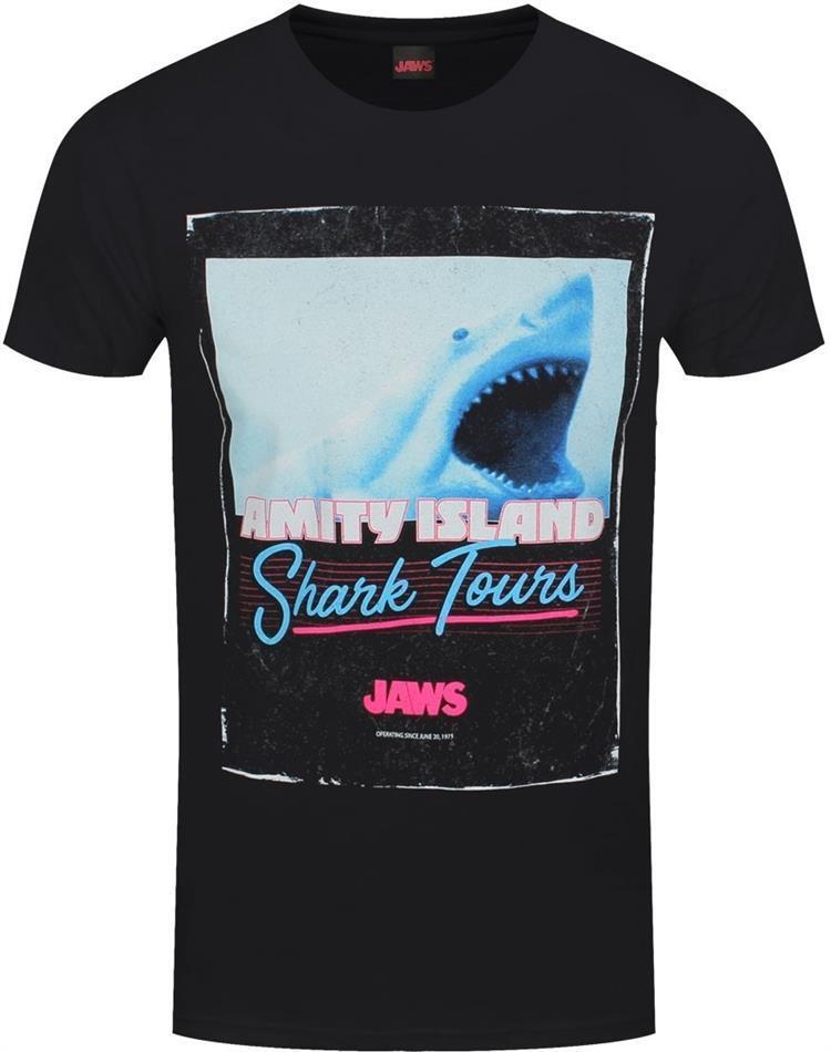 Jaws: Shark Tours - Men's T-Shirt - Grösse M