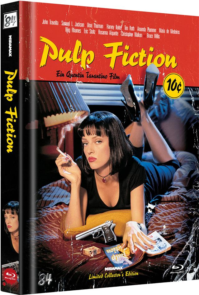 Pulp Fiction (1994) (Cover C, Limited Collector's Edition, Mediabook, Uncut)