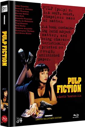 Pulp Fiction (1994) (Cover D, Limited Collector's Edition, Mediabook, Uncut)