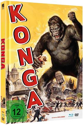 Konga (1961) (Limited Edition, Mediabook, Uncut, Blu-ray + DVD)
