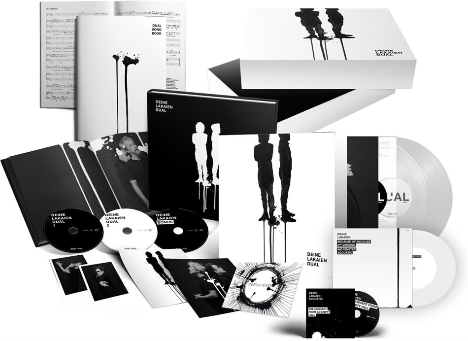 "Deine Lakaien - Dual (Fanbox Deluxe Edition, 2 LPs + 3 CDs + DVD + 7"" Single)"