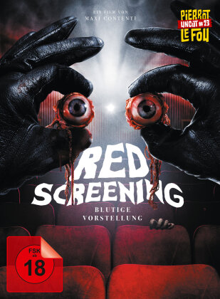 Red Screening - Blutige Vorstellung (2020) (Pierrot Le Fou Uncut, Limited Edition, Mediabook, Blu-ray + DVD)