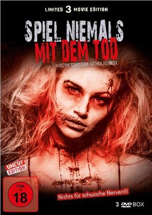 Spiel niemals mit dem Tod - Limited 3 Movie Edition (Uncut, 3 DVDs)