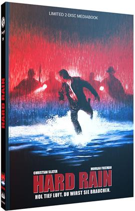 Hard Rain (1989) (Cover B, Limited Edition, Mediabook, Blu-ray + DVD)